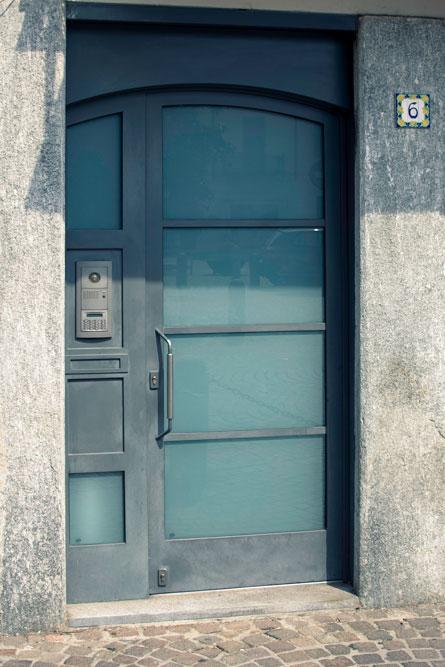 Portone di ferro per ingresso abitazione - Gori
