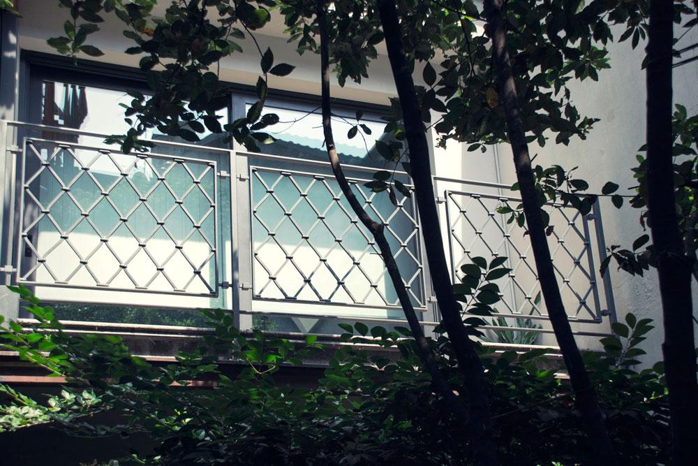 Balconata da esterno in ferro - Gori